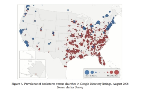 Bookstores versus Churches