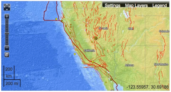 Mapping Fault-Lines in Earthquake Maps | Musings on Maps on