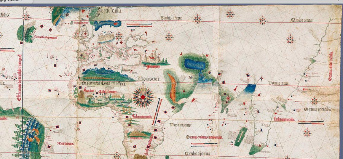 Cantino Map