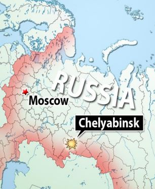 Chelyabinsk Musings on Maps