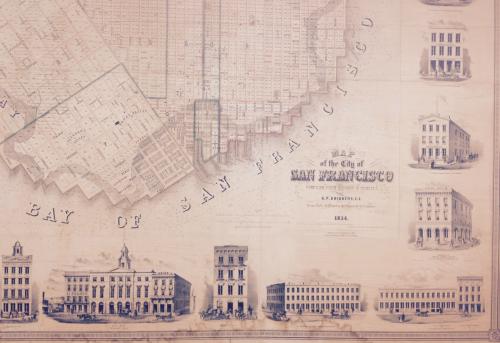 Bay of San Francisco 1854