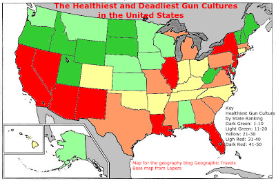 Color Map of State Gun Cultures