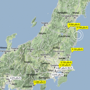 Mapping Radiation Levels Toward A Vigilante Cartography Or A - Japan map radiation
