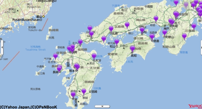 March Musings On Maps - Japan map yahoo