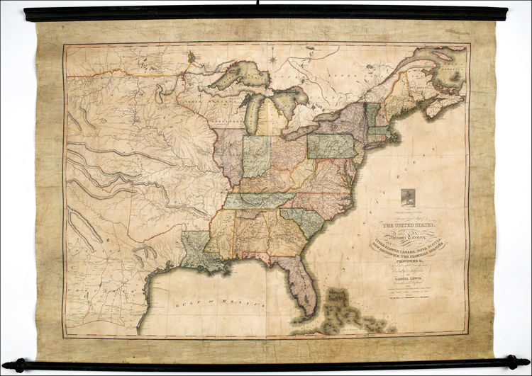Eagle Map of United States Musings on Maps