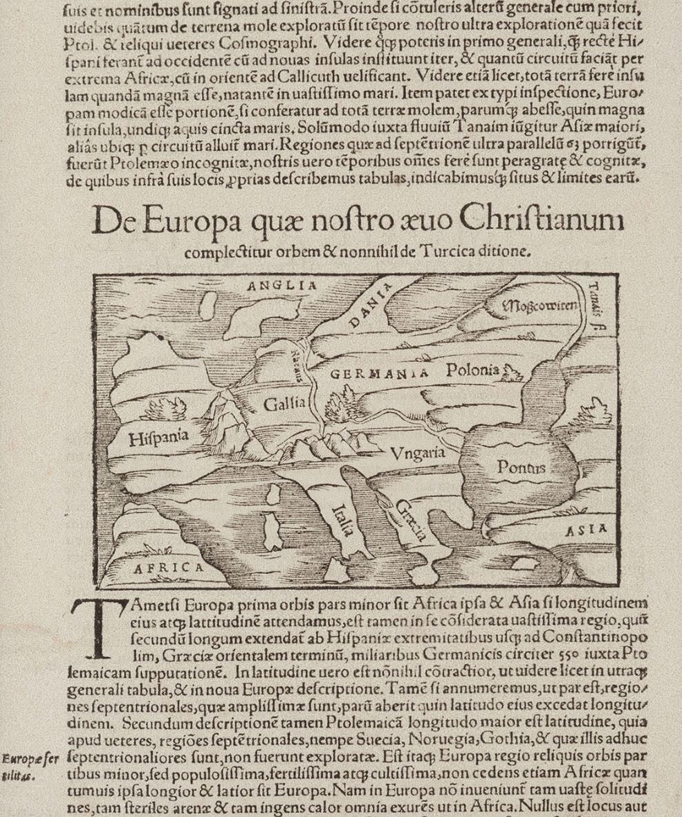 De Europa quae nostro Aevo Christianum complectitur orbem 1550.png