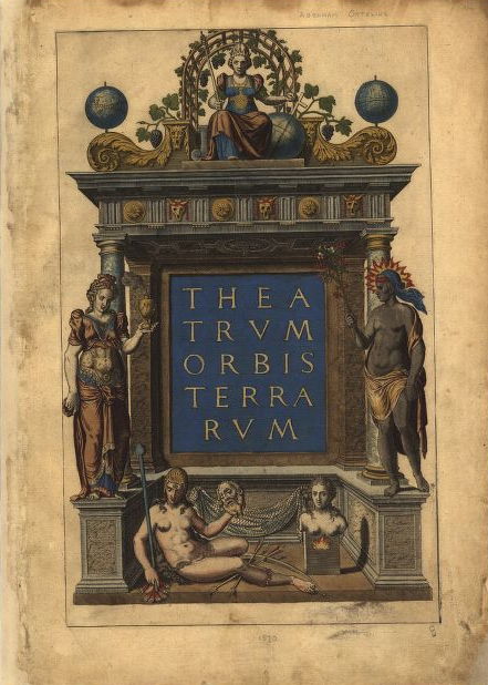 Ortelius' Continents-Ftspiece