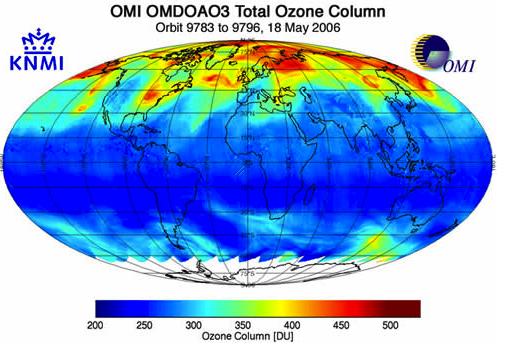 Ozone Column 2006