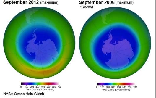 Sept 2006-Sept 2012 ozone