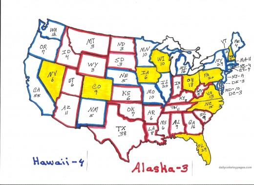 electoral colors map