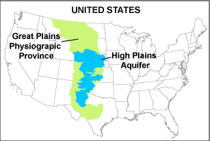 High Plains Aquifers Musings On Maps - Great Plains On Us Map