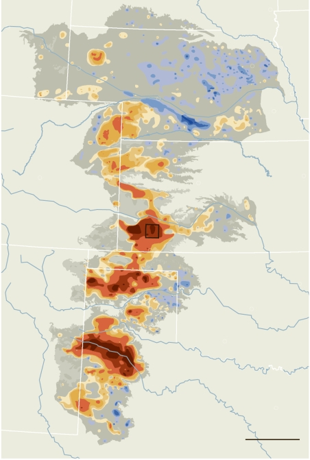 Hot-Spots of Aquifers