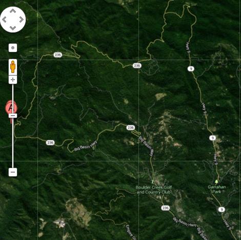 Boulder Creek Map Traffic