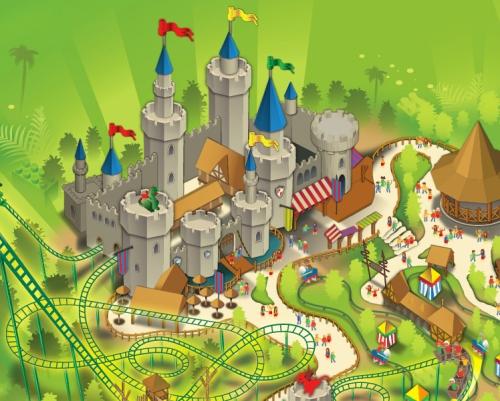 castle legoland