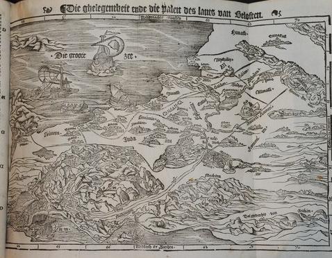 Cranach Bible Map Holy Land toponyms