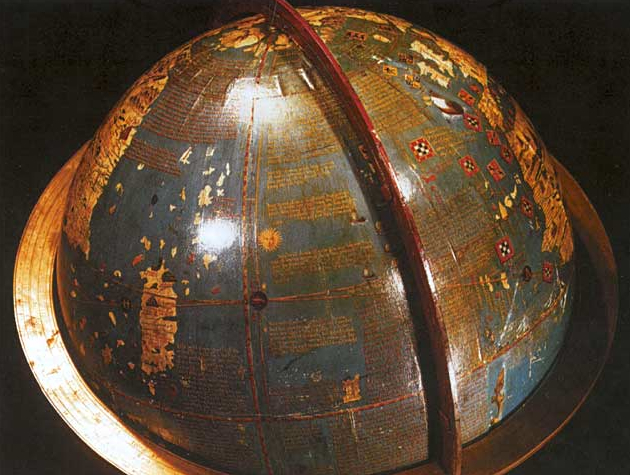Globe's Written Surface