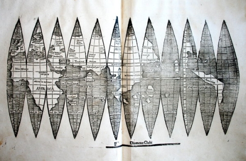 Wertvolle Waldseem¸ller-Karte entdeckt