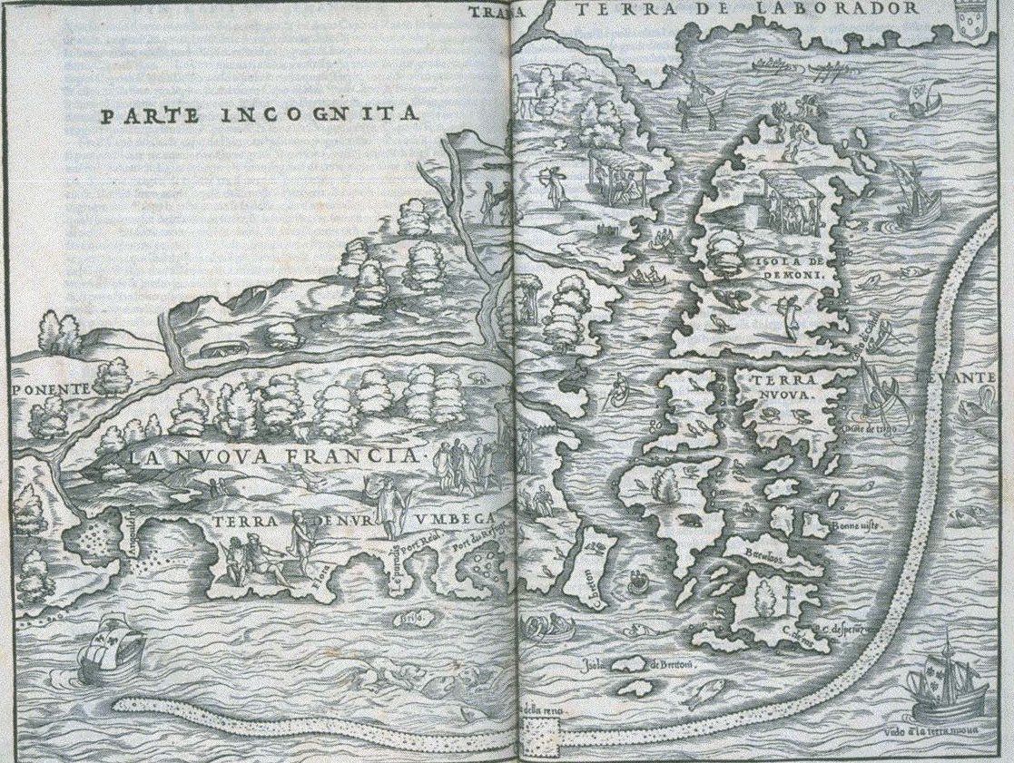 1556 Gastaldi Nuova Francia