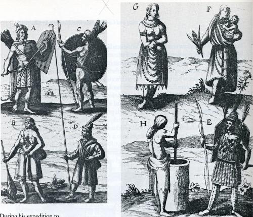 17 bis  Algonquin indians 1615-17 by Champlain