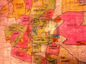 Oakland Musings On Maps