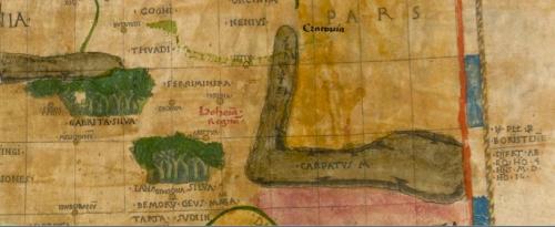 Bohemia in 1477 Ptolemy