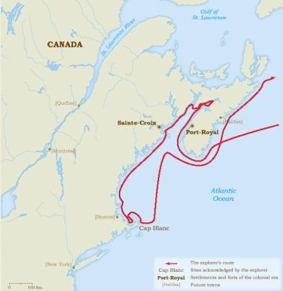 Champlain (1604-1607)