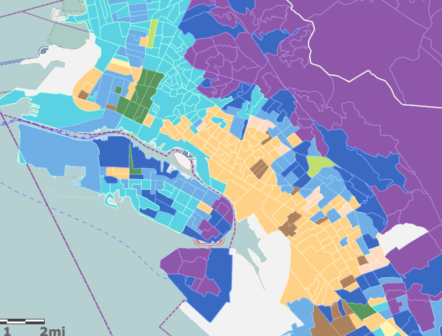 Oakland Represented Variously: What We See When We Map ...