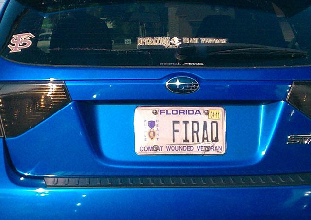 Florida-License-Plate-Veteran-F-Iraq