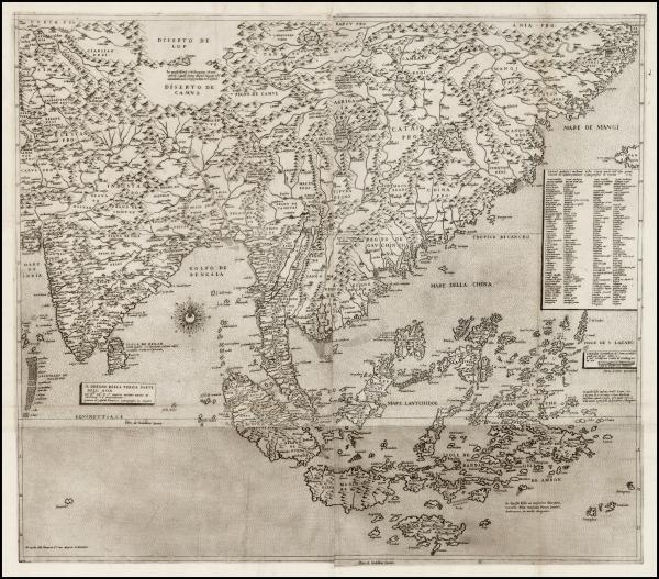 Gastaldi-prat of Asia