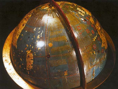 Globe's Written Surface