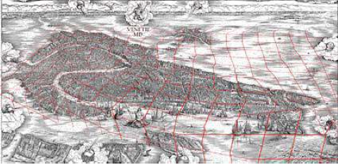 Gridded view of Jacopo's Venice