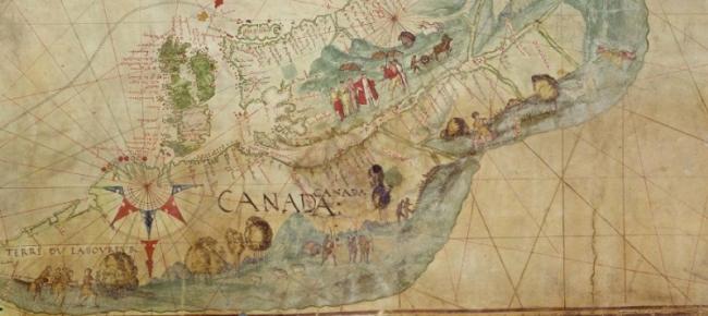 Harleian Map c. 1542-44
