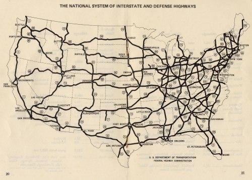 Interstate_Highway_plan_October_1,_1970