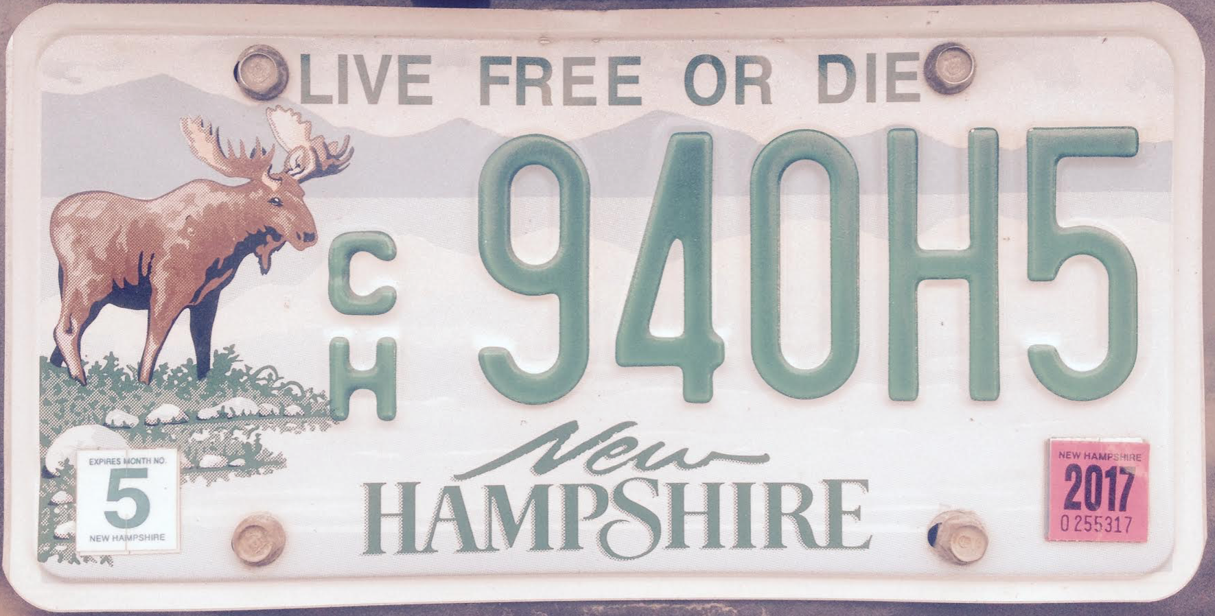 LIVE FREE OR DIE!  NH