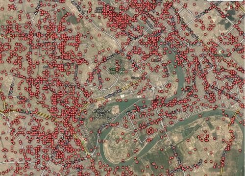 Mapping Civilian Deaths Baghdad 2010 Wikileaks