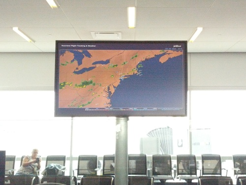 Maps in Airports--Jet Blue NYC