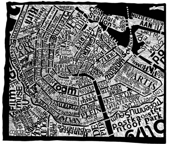 Mark-Webber-Amsterdam-Map-120-x-100cm-Linocu-Print-on-Paper-e1331468741268