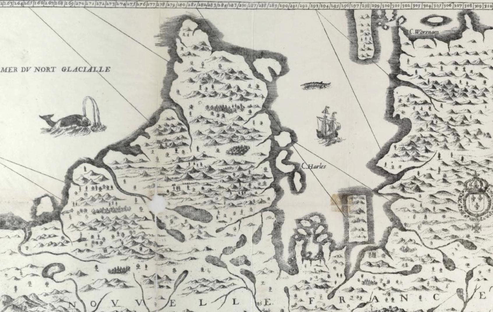 Mer du Nort Glacialle in Nouvelle France