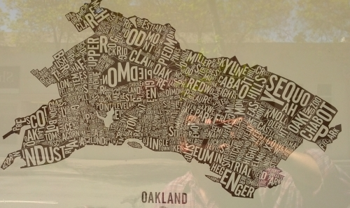 Oakland Word Map