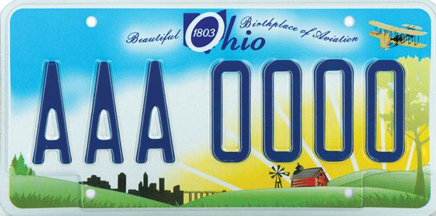 Ohio Plate Generic Scene