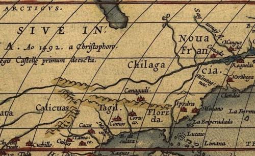 Ortelius' Nove Francia