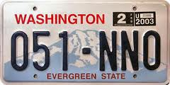 Washington Plate