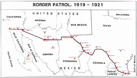 Mapping The Us Mexican Border Musings On Maps