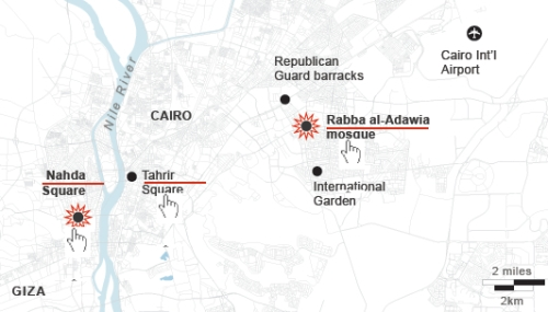 Clashes Mapped