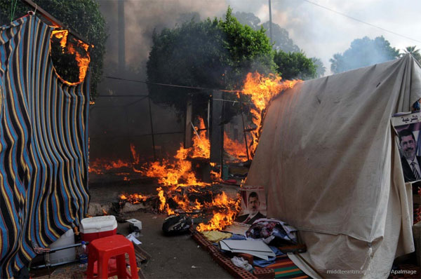 egypt-tents-set-on-fire