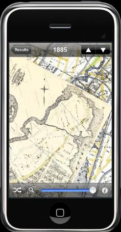 Historic EarthTM 1885 iScreen