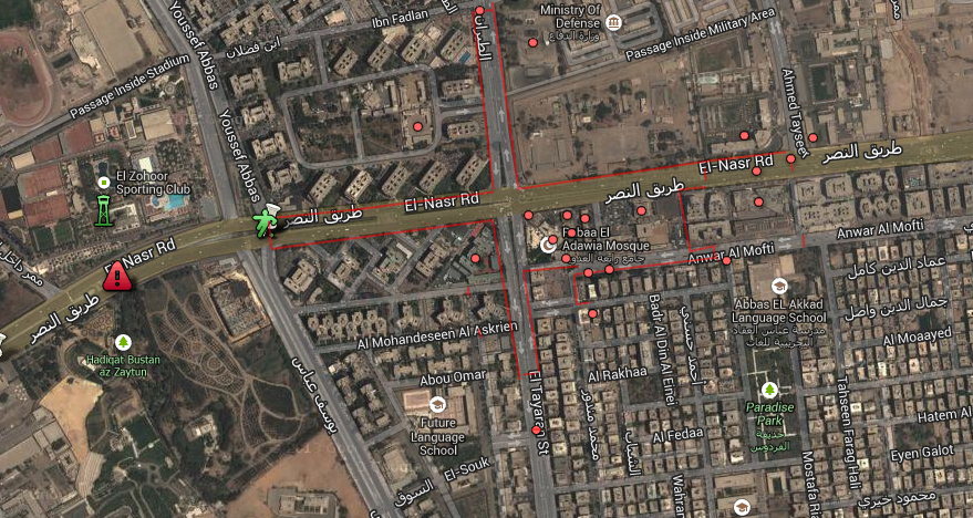satallite Nasr City