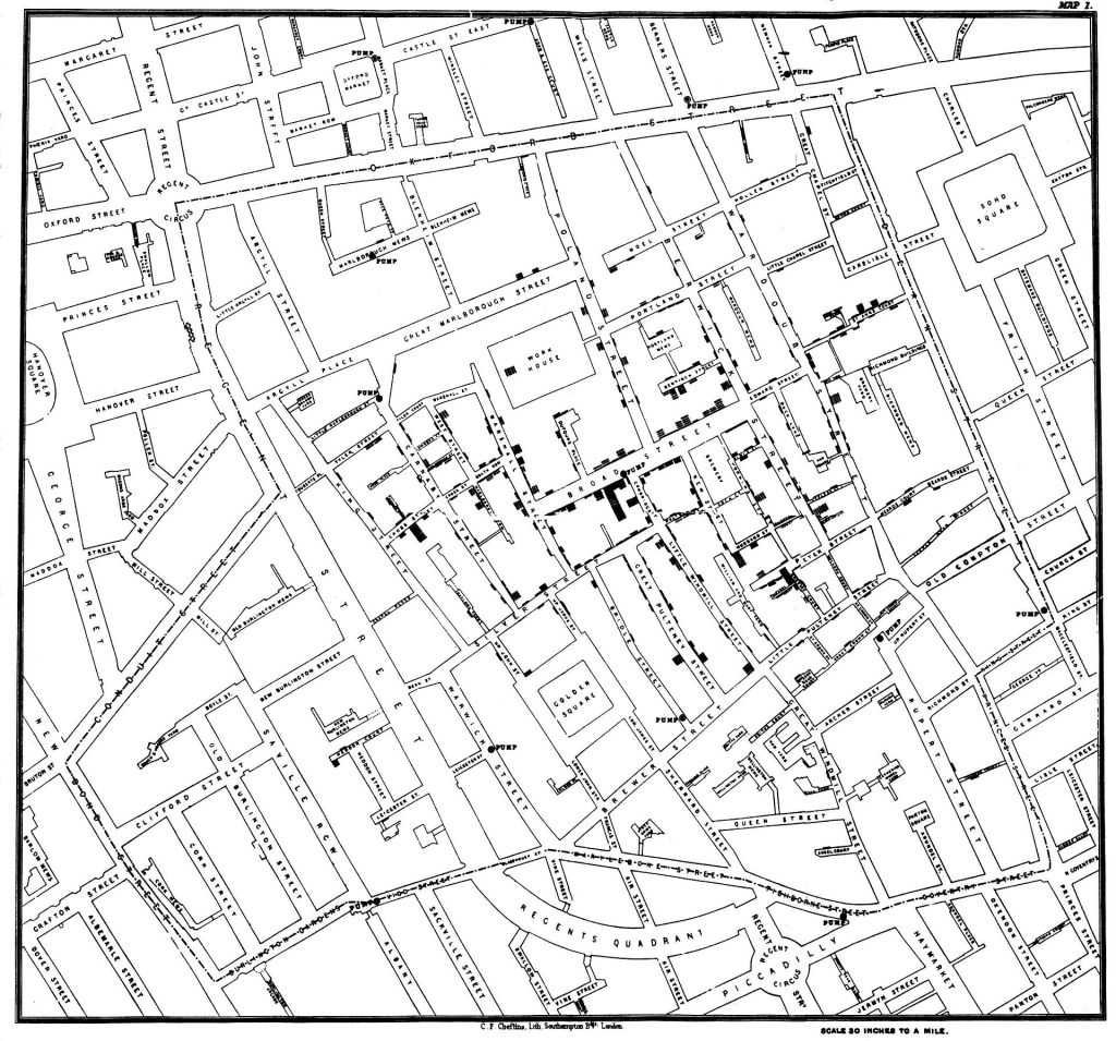 This image has an empty alt attribute; its file name is snow-cholera-map-1.jpg