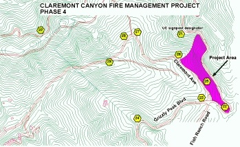 Claremont Canyon Fire Mitigation