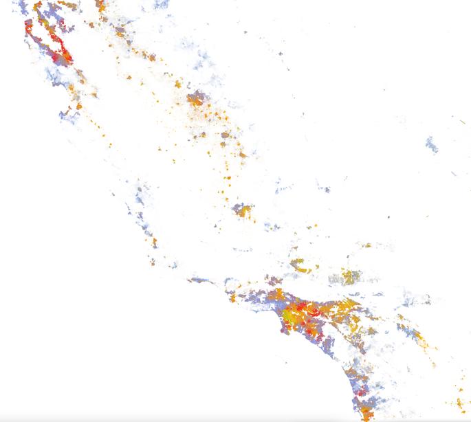 Colors of California Coastline